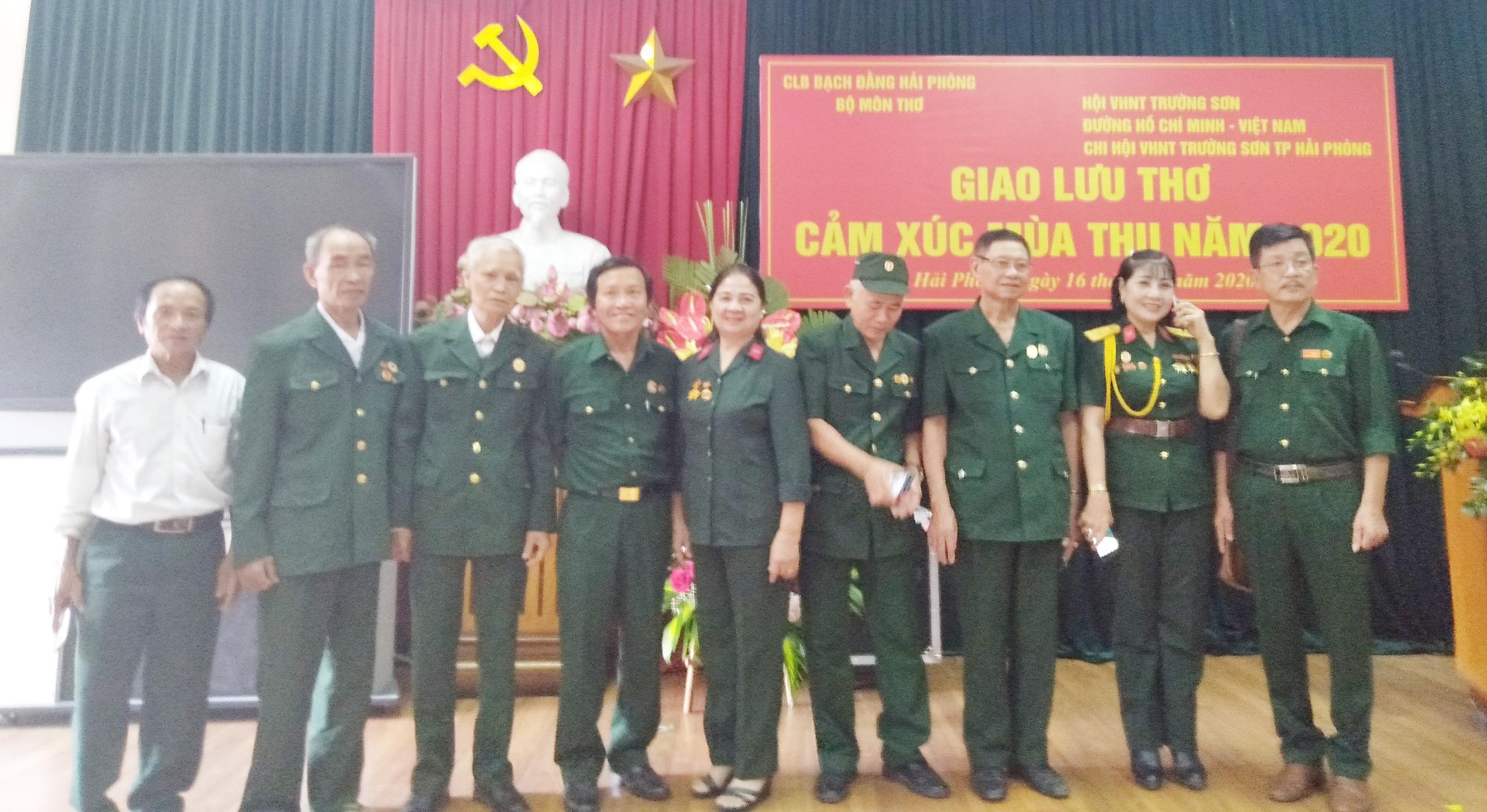 Văn học Nghệ thuật TS Hải Phòng tham dự giao lưu Thơ, Nhạc