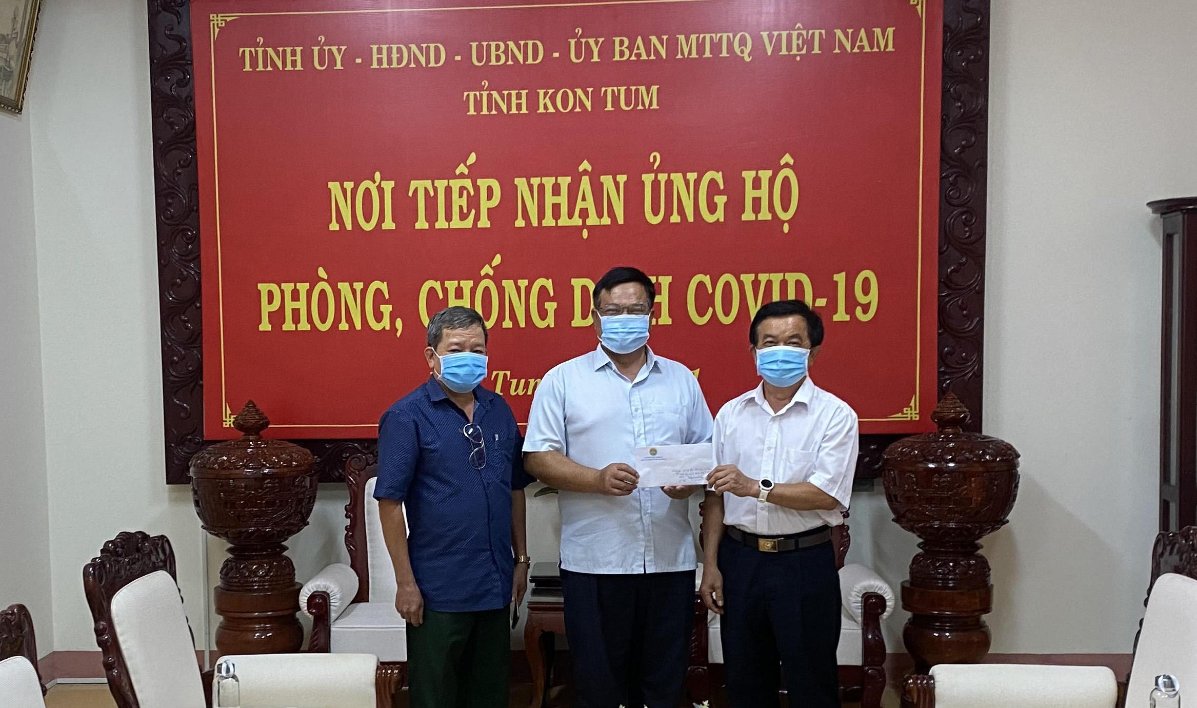 Hội Trường Sơn tỉnh Kon Tum, ủng hộ quỹ phòng chống dịch Covid-19 và tặng quà nhân ngày TBLS (27-7)