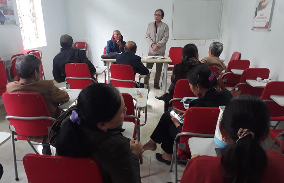 Sinh hoạt đầu xuân của Chi hội Chiến sỹ Trường Sơn  giúp nhau làm kinh tế giỏi huyện Thọ Xuân
