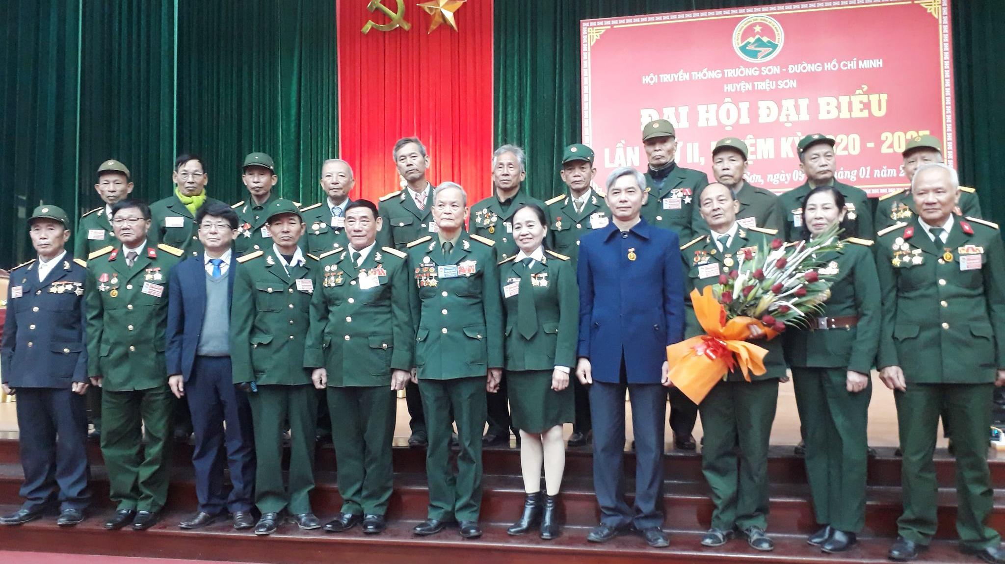 Đại hội nhiệm kỳ 2 Hội Trường Sơn huyện Triệu Sơn - Thanh Hóa