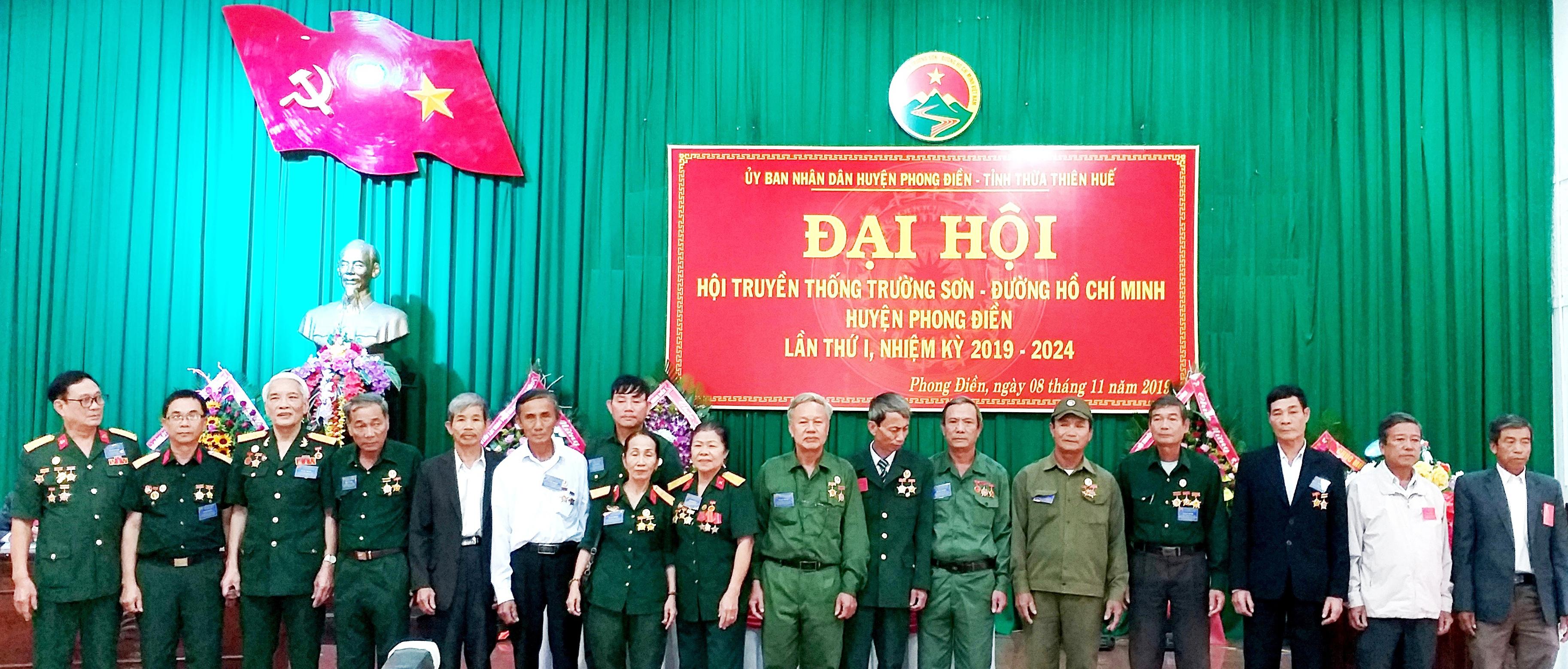 Đại hội thành lập Hội Trường Sơn huyện Phong Điền tỉnh Thừa Thiên Huế