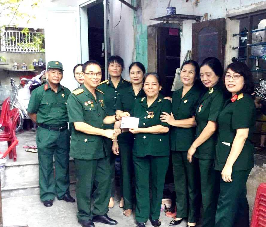 Hội Trường Sơn Thừa Thiên Huế giúp nhau khắc phục hậu quả bão số 5