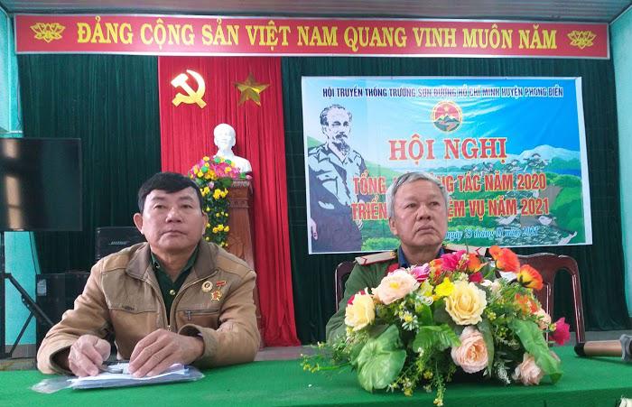Hội Trường Sơn huyện Phong Điền tỉnh Thừa Thiên Huế. Tổng kết năm 2020
