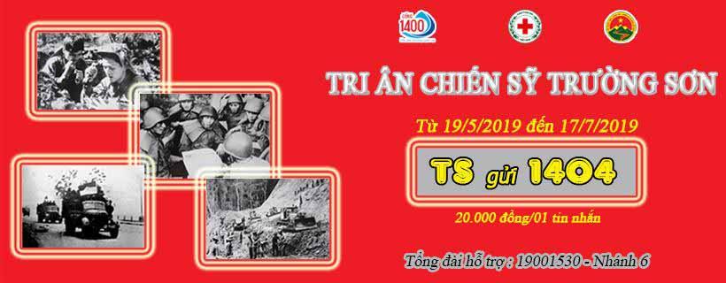Hội TS quận Ba Đình, Hà Nội ủng hộ nhắn tin tri ân TS